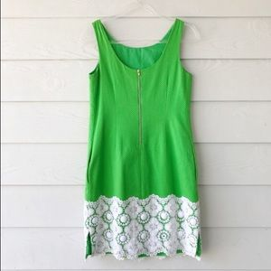 Lilly Pulitzer Dresses - Lilly Pulitzer Jubilee Kelly Green Shift Dress